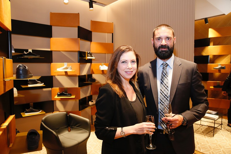 The Gianvito Rossi South Coast Plaza Boutque Opening