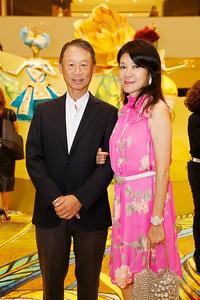 Mac Cosmetics Guo Pei collection, South Coast Plaza, Costa Mesa, America - 30 Sept 2015