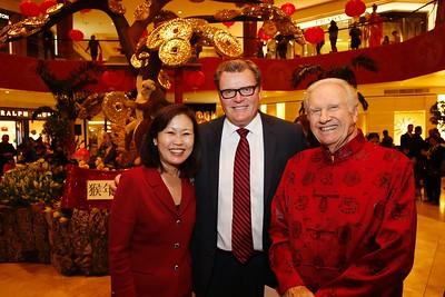 Year of the Monkey Lunar New Year celebration at South Coast Plaza
