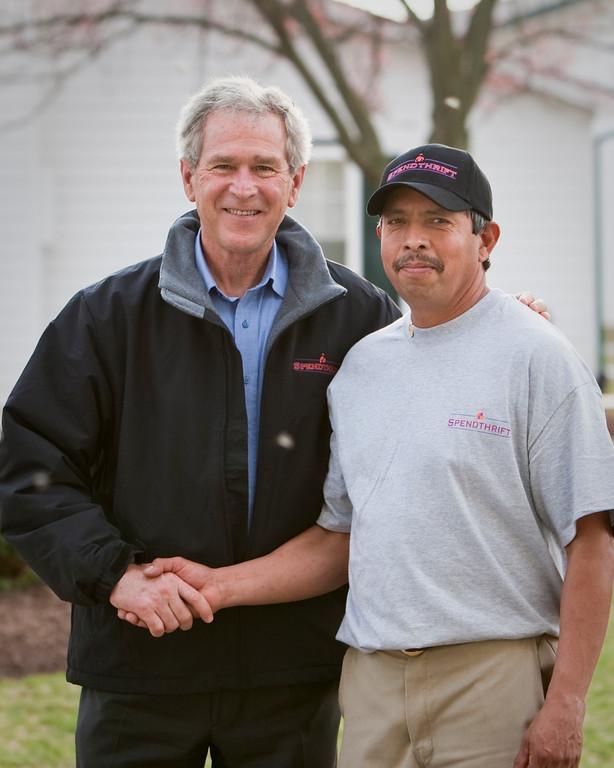 Spendthrift Bush Visit