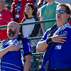 NASL Match between FC Edmonton And North Carolina FC at Clark Field on Sep 10, 2017 in<br /> Edmonton, Alberta, Canada
