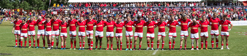 International match between Team Canada and Team Romania at Ellerslie Rugby Park on Jun  17,  2017 in Edmonton, Alberta, Canada
