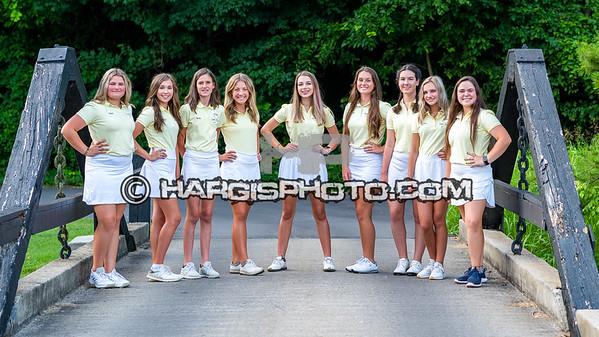 2021 FCHS Lady Flyers Golf Team