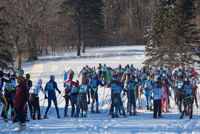 20140202-041 City of Lakes Loppet Sunday racing