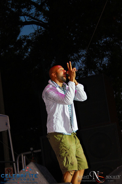 Hip Hop artist Common performs live at Celebrate St. Louis Summer Concert 2010 - Photos taken by Maurice