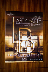 Arty Party, One Day Art Show Featuring Photography by Lawrence Bryant of LB Photography - Photo taken by Cory Lampkin