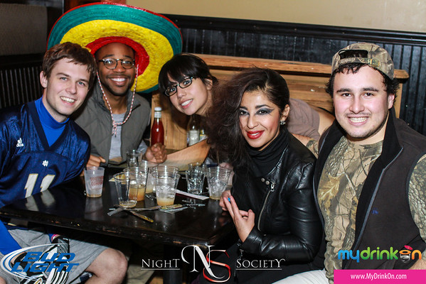 MyDrinkOn and NightSociety host the 1st Nightmare on Washington Street Bar Crawl. Including 10 different bars on Washington Ave with drink specials and costume contests. Photography by Nightsociety.