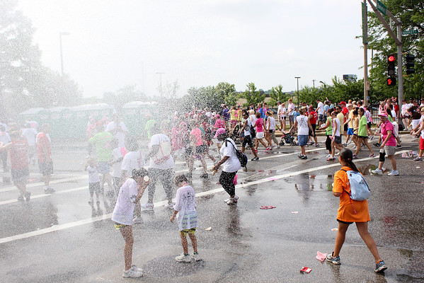 Susan G Komen Race for the Cure 2011 - Downtown St. Louis. Photography By Maurice