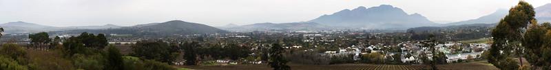 SGC View over Stellenbosch