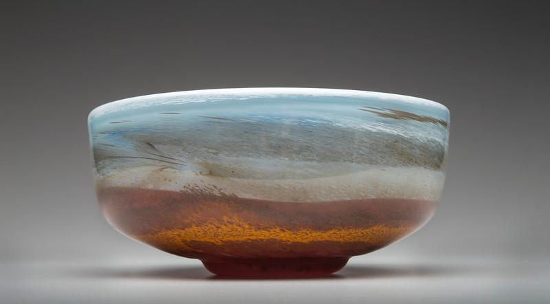 Bob Gent - Blown Glass bowl
