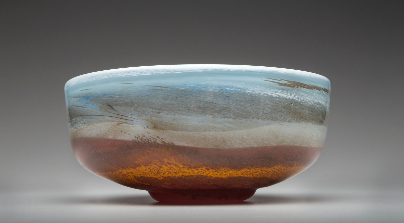 Bob Gent - Blown Glass bowl