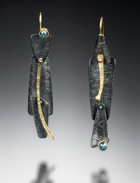 Nichole Collins - Earrings http://www.nicholecollinsjewelry.com/