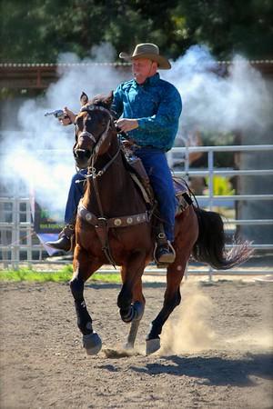 Susan Mounted Shooting Demo