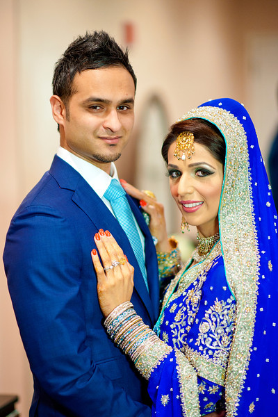 Syed & Amna: {married}!