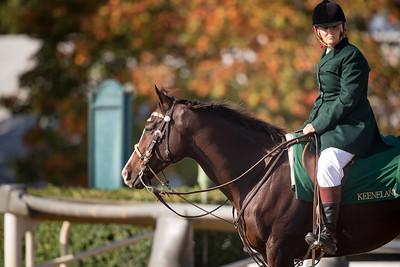 Robin Riesenbeck at Keeneland 10/11/17