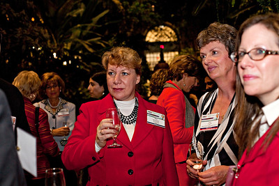 Opening reception at the US Botanical Garden, TIAW Global Forum 2012. Shot 10/17/12