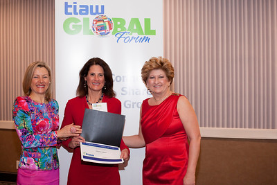 TIAW Global Forum. Each year, the TIAW World of Difference 100 Award recognizes women - and men - who have advanced the economic empowerment of women, whether on a small scale in the developing world, or effecting change in the boardrooms of the business capitals of the world. Established in 2008, the TIAW World of Difference 100 Award has garnered worldwide attention for the high caliber of achievement and change leadership demonstrated by its recipients, the impressive reach the awards throughout the world and by their growing impact.The awards celebrate the inspiring, courageous, tenacious and creative achievements of the extraordinary champions of women's economic advancement. Shot 3/27/2014