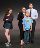 "From left, Naoimi Medley, Annie Craven, Ben Franklin and Jeb Goldman (in blue)  in Teen Musical Theater of Oregon's production of ""Freaky Friday.""  Photo by Jim Craven/www.jimcravenphoto.com"