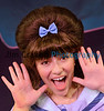 "Katie Joos as Tracy Turnblad in Teen Musical Theater of Oregon's production of ""Hairspray.""  Photo by Jim Craven"