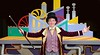 Grayson Weaver plays Willy Wonka in Teen Musical Theater of Oregon's production based on the Roald Dahl book.  Photo by Jim Craven/www.jimcravenphoto.com