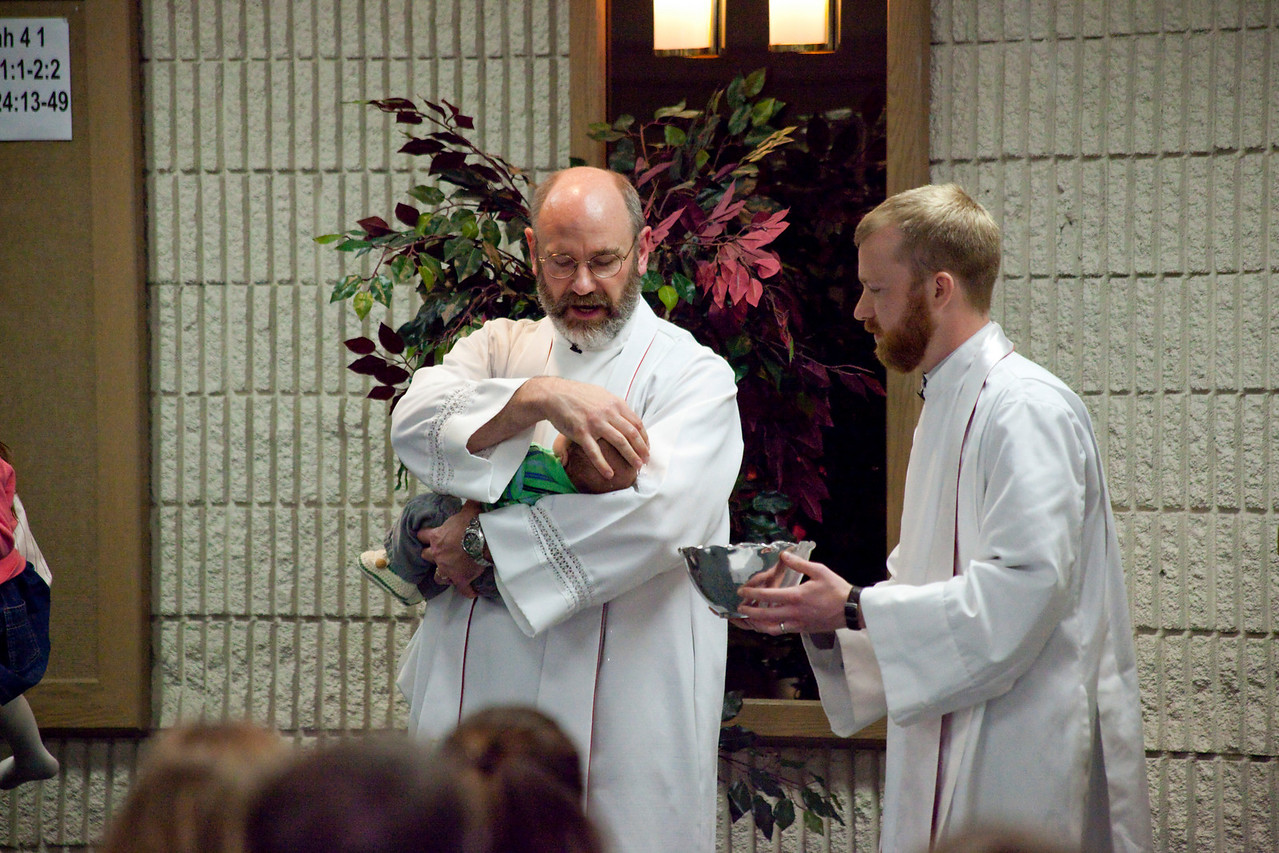 Another Trinity Reformed Church Baptism