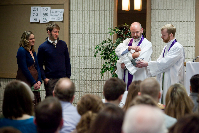 Darcy Tollefson was baptised at Trinity Reformed Church on March 21, 2010.