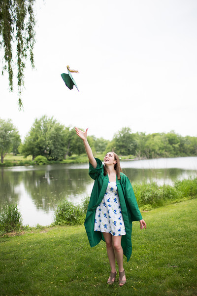Taylor || Cap and Gown Session