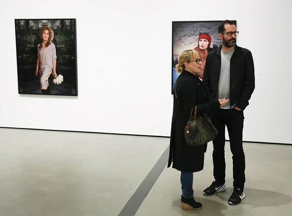 """""""Cindy Sherman: Imitation of Life"""" preview at The Broad museum, 9 June, 2016, Los Angeles"""