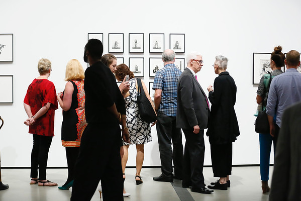 """Cindy Sherman: Imitation of Life"""" preview at The Broad museum, 9 June, 2016, Los Angeles"""