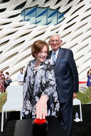 The Broad museum Civic Dedication, Los Angeles, America - 18 Sept 2015