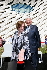 The Broad museum Civic Dedication, Los Angeles, America - 18 Sept 2015