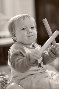 "Look at that confidence!!! Going for her ""drum solo"", here is Julie with some drum sticks perferct for her age..."