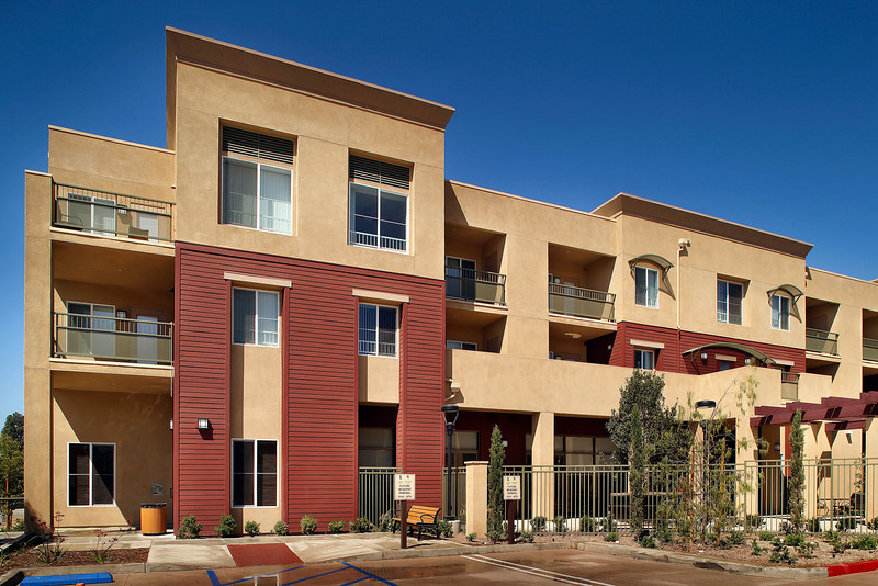 Osborn Senior & Family Apartments, Sylmar, CA, 6/27/13.