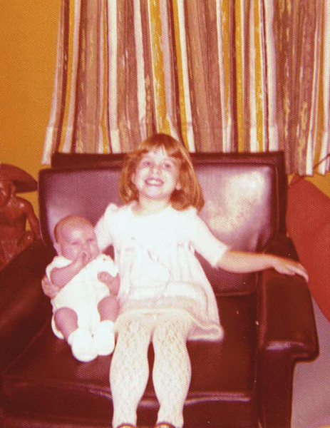 The very, very beginning: me & my cuddly baby brother. I always loved babies. When I was a child I wanted to be a teacher or a pediatrician.