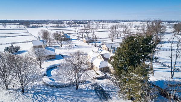 Three Chimneys snow day, 1.28.21.
