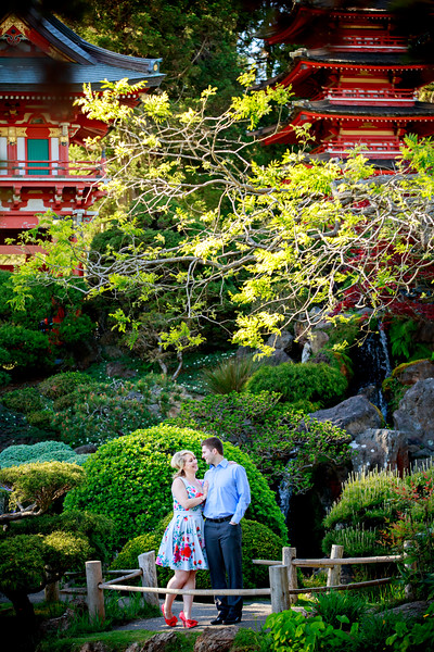 San Francisco Japanese Tea Garden Engagement Photos, Alamo Square Engagement Photos, SF the embarcadero engagement photos, Tim and Alyce, Huy Pham Photography, San Francisco Engagement Photographers, San Francisco Wedding Photographers