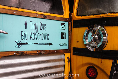 Tiny Bus Big Adventure Wayne