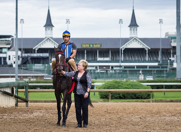 Vickie and Hog Creek Hustle at Churchill Downs 6.24.19