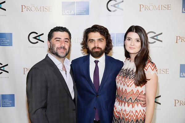 Creative Armenia Launch at UCLA, Westwood, America - 2 May 2017