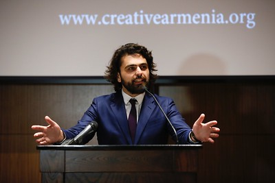 Creative Armenia Launch at UCLA, Westwood, America - 2 May 2017