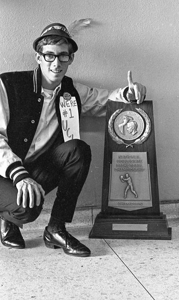 Norm Levin 1967 NCAA Trophy