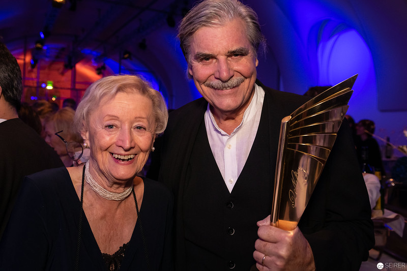 Karin Kathrein, Peter Simonischek - Nestroy 2018 After-Show-Party