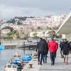 Team AzkoNobel practicing in Lisbon, part of their preparation for the Volvo Ocean Race 2017/2018