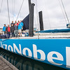Team AzkoNobel practicing in Lisbon, part of their preparation for the Volvo Ocean Race 2017/2018
