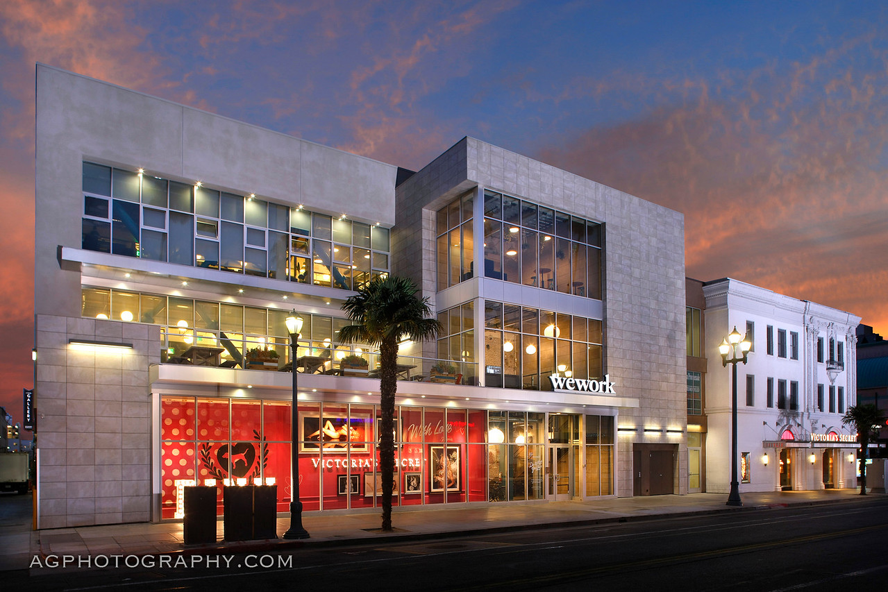 The Criterion Building, 3rd Street Prominade, Santa Monica, CA. 7/1/16.