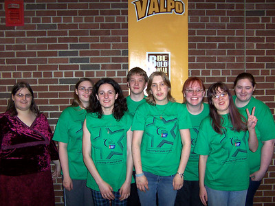 Our Alpha Phi Omega group that walked for the evening. Sharayah, Amanda, Me, Tim, Penny, Tady, Malia, Gwen.