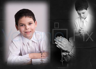 Valvano Communion Collage