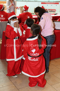 1212271-0017    The 3rd Annual Santa Walk fundraiser benefiting Variety the Children's Charity of Southern California at Westfield Topanga on Dec. 2, 2012 in Canoga Park, Calif.  (Photo by Ryan Miller/Capture Imaging)