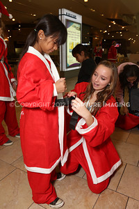 1212271-0007    The 3rd Annual Santa Walk fundraiser benefiting Variety the Children's Charity of Southern California at Westfield Topanga on Dec. 2, 2012 in Canoga Park, Calif.  (Photo by Ryan Miller/Capture Imaging)