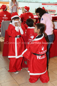 1212271-0018    The 3rd Annual Santa Walk fundraiser benefiting Variety the Children's Charity of Southern California at Westfield Topanga on Dec. 2, 2012 in Canoga Park, Calif.  (Photo by Ryan Miller/Capture Imaging)